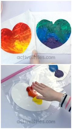 Preschool Learning Activities, Sensory Activities, Infant Activities, Kids Learning, Colour Activities, Learning Shapes, Daycare Crafts, Preschool Crafts, Toddler Arts And Crafts