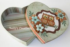 Betty's Creations: Large heart box with instructions