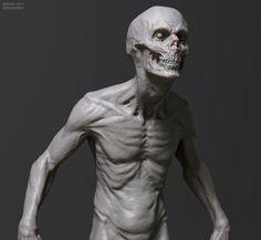 Zombie-1 by Andrei Abramenko, via Behance