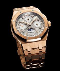 Audemars Piguet Royal Oak Perpetual Calendar. Luxury safes, exclusive design, luxury goods, luxury life, bespoke watch, gold. For more luxury news check out: http://luxurysafes.me/blog/
