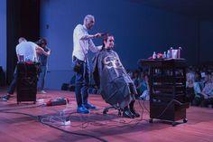 En 1992 Gastone Landi abre su propio salón, y en ese mismo año es cuando se une en su aventura por la peluquería su hermano Marco, protagonista de esta imagen. #SalermCosmetics