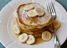 Fluffy and Delicious Banana Pancakes
