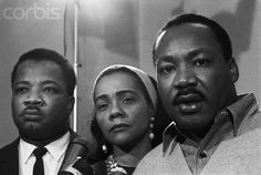 Martin Luther King, Coretta Scott King, and A.D. King - BE050492 - Rights Managed - Stock Photo - Corbis