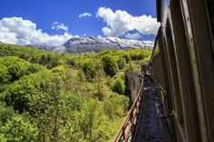 One of the most beautiful Italian railways, known as the Trans-Siberian Railway of Italy, from Sulmona to Carpinone (Abruzzo). The wagons are still the original ones of the '20s.