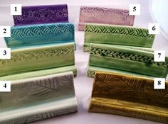 Business Card Holders by SuePatrickPottery on Etsy