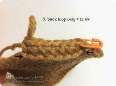 [코바늘] 바구니 뜨기 _ 도안,과정샷 : 네이버 블로그 Crochet, Ganchillo, Crocheting, Knits, Chrochet, Quilts