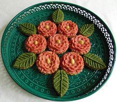 M'chekla fleurs aux amandes & feuilles aux noix de cajou {Sans sucre raffiné - Faible en MG }
