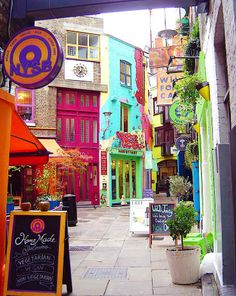 Neal's Yard - London