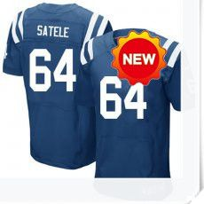 $66.00--Samson Satele Jersey - Elite Blue Home Nike Stitched Indianapolis Colts  Jersey,Free Shipping! Buy it now:http://is.gd/SLUoZY