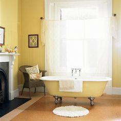 Gelb Bad Wohnideen Badezimmer Living Ideas Bathroom