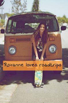 Roxanne loves road trips