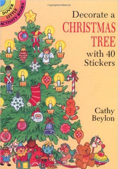 Dover Little Activity Books are always a great value -usually less than $1.50. This Christmas Tree Sticker Bookis packed with ornaments and traditional Christmas items.