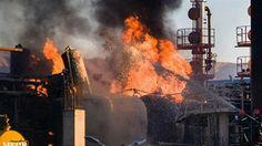 10/28/2017 - Fire at Tehran Refinery Kills Several People