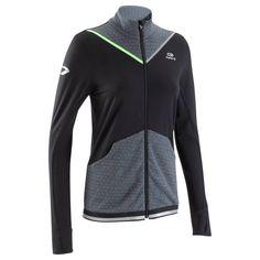 Triatlón Amarillo Trail Chaqueta Ropa Transpirable Running Running Deporte Kalenji De Mujer 25€ Negro Kiprun wxH1C