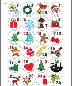 Front Calendar, Child Advent Calendar, Christmas Diy, Diy E . Christmas Countdown, Christmas Calendar, Free Christmas Printables, Christmas Gift Tags, Christian Christmas Crafts, Christmas Crafts For Kids, Christmas Projects, Christmas Fun, Holiday Crafts