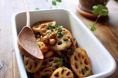 これどうやって作ったの⁈って絶対聞かれる持ち寄りレシピ、蓮根と大豆のバルサミコの作り方|LIMIA (リミア)