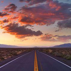 Road to Burning Man