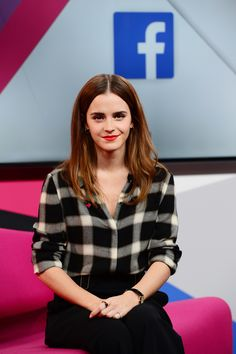 Actress and UN Women Global Goodwill Ambassador Emma Watson holds live Q&A on International Women's Day: 'We Just Want to Be Included'. Emma Watson took part in a live Q&A about gender equality to promote the HeForShe organization in a special Facebook Live event on March 8, 2015 in London.