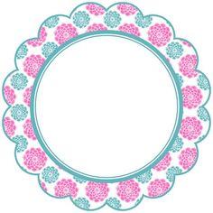 Resultado de imagem para tags azul turquesa com flores