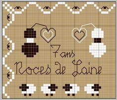 """""""7 ans - Noces de Laine"""" (7 year anniversary - Wool) - Le blog de vava"""