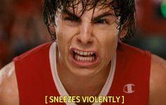LOL funny zac efron omg high school musical pls Sneezing