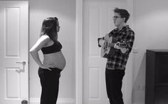 This is too cute, husband and wife took pictures everyday for 9 months then created this video
