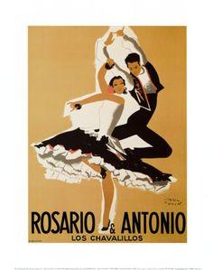 Paul Colin, Rosario and Antonio, 1949