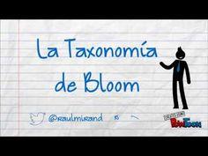 Explicación de la Taxonomía de Bloom Twitter: @raulmirandal