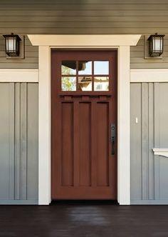 Belmont Craftsman - Fiberglass Doors - front doors - other metro - Tru Tech Doors