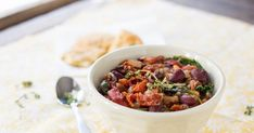 Have no idea what to make for dinner? Reeeally don't want to go to the store? You probably have everything you need for this delicious and highly customizable stew.