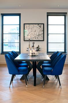 Richmond Interiors - Escape the ordinary Richmond Interiors, Us Office, Dining Room, Dining Table, Office Interiors, Interior Inspiration, Interior Ideas, The Ordinary, Home Art