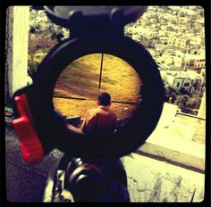 Israeli soldier posts disturbing Instagram photo of child in crosshairs of his rifle   The Electronic Intifada