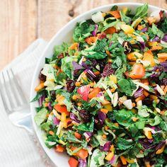 Rainbow Chopped Salad