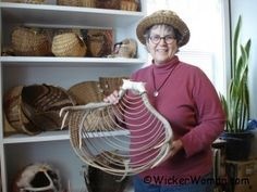 Antler Basket Art Presentation at Ely Library