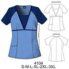 4104 blusa Scrubs Outfit, Scrubs Uniform, Healthcare Uniforms, Scrubs Pattern, Beauty Uniforms, Greys Anatomy Scrubs, Nurse Costume, Uniform Design, African Men Fashion