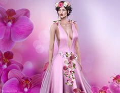 Fellini~Elexir Gown