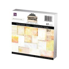 "Prima Marketing Double-Sided Paper Pad 6""X6"" 30/Pkg - Sunrise Sunset"