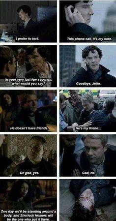 Saddest scene I've ever seen on telly Sherlock Bbc, Sherlock Fandom, Sherlock Quotes, 221b, Fandoms, Harry Potter, Marvel, Johnlock, Martin Freeman
