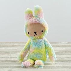 Rainbow Bunny by Bijou Kitty  | The Land of Nod