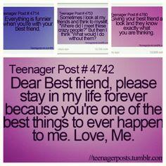 best friend teenage post | Teenagers Post For Best Friends