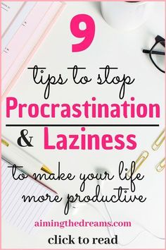 to beat and to make more to read. Taking action is the key to be successful at managing your procrastination habit. It is important to stop procrastination and laziness because it effects your life not only professionally but personally too. Effective Time Management, Time Management Strategies, Time Management Skills, Time Management Quotes, Planners, Productive Things To Do, Being Productive, Being Successful, Successful Women