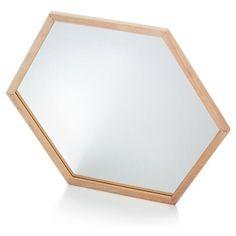 Image for Hexagonal Mirror from Kmart Kmart Decor, Market Stalls, Inspirational Wall Art, Create Space, Homemaking, Bedroom Decor, Bedroom Ideas, Master Bedroom