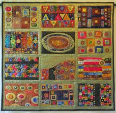 Frieda Oxenham: British Quilt and Stitch Village Show Championship...