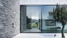 With the air-lux pivot door, one does not have to make any compromise. Advantages of the air-lux pivot door: - Door sizes up to 15 m² (three metres wide, five metres high) - Door weight up to 1500kg - Glass thickness up to 60 mm (alarm glass or bullet-proof safety glass possible) - 100% impermeability through the air-lux pneumatic sealing system - Wide range of materials like glass, wood, steel or architectural bronze/stone - 10-year guarantee  #pivot #pivotdoor #minimalwindow #airluxwindow Pivot Doors, Entry Doors, Safety Glass, Microsoft, Windows, Wood Steel, Instagram, Bullet, Highlights