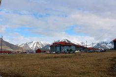 Einmal Spitzbergen und zurück   Longyearbyen auf Spitzbergen © Frank Koebsch