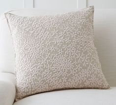 Just look at the dainty details in this Moroccan Embroidered Pillow Cover (affiliate)