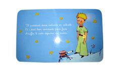 Planche à tartiner en mélamine. Résistante et anti-dérapante. Dimensions: 23.5 x 14.5 cm. Dimensions, The Little Prince, Floor