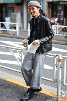 [Modern Reggae Style] Model Name: Shingo, Jacket: C'EST PAS GRAVE, Shirt: Or GLORY, Pants: Or GLORY, Shoes: TRICKERS, Hat: Or GLORY. http://orglory.com/online-store/ #MenWinter2012 #HarajukuStyle