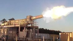 Watch US Navy researchers test-fire an electromagnetic railgun | Fox News