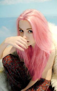 cabelo rosa pastel em morenas | Tema: Califica El Pelo Del Usuario De Arriba